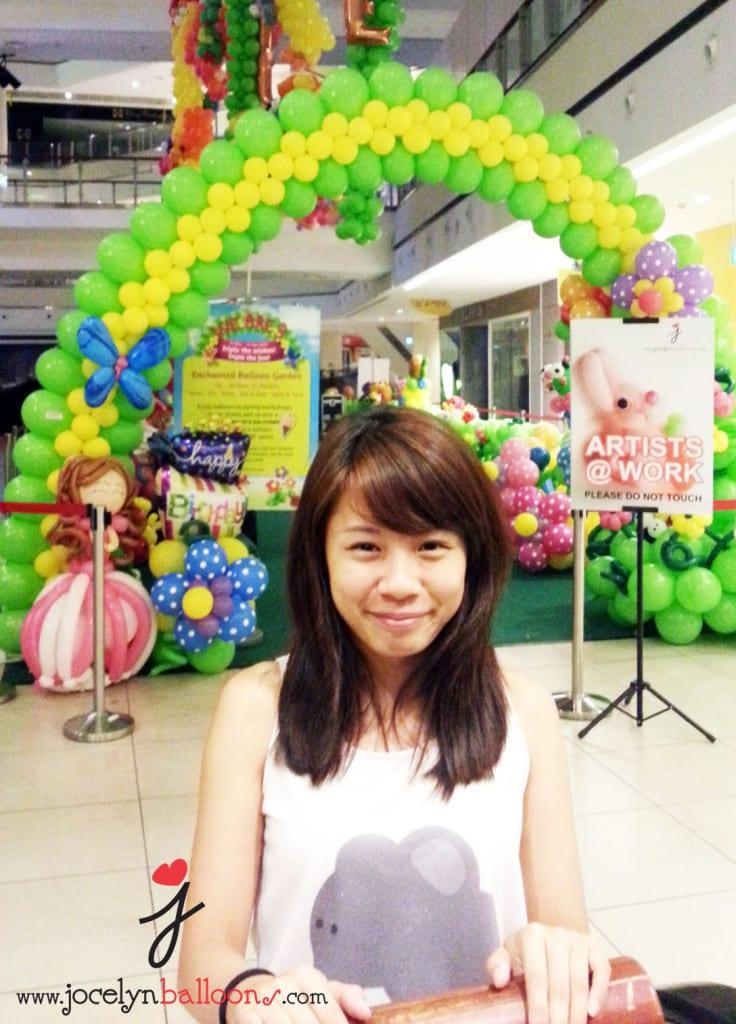 the enchanted balloon garden