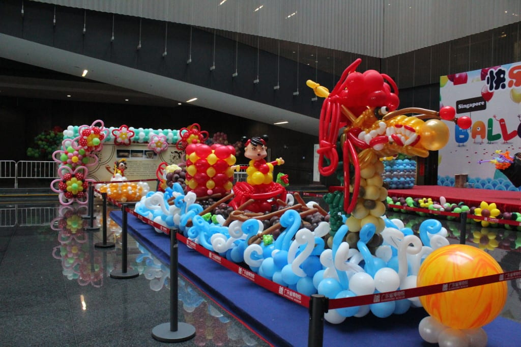 dragon boat balloon design by jazz ang