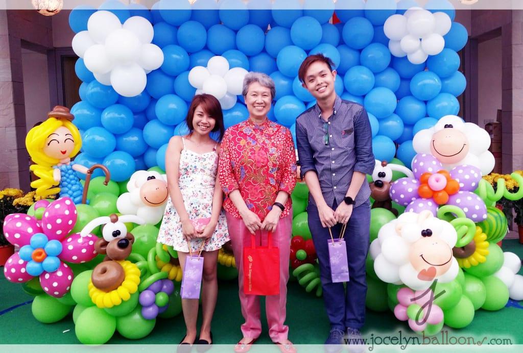 Jocelynballoons 3rd year for Mdm Ho