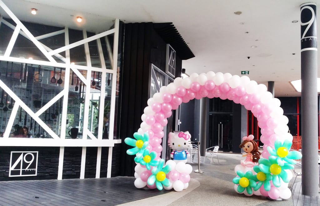 Any Type Of Balloon Arches Is Possible