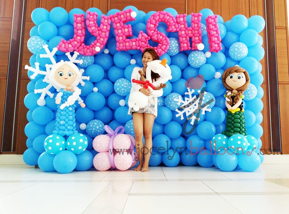 Frozen Theme for Jyeshi