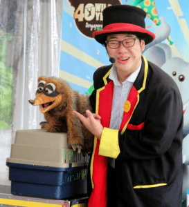 Magic show for birthday parties Singapore