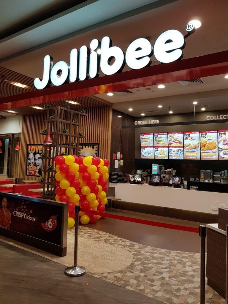 Balloon Decoration For Jolibee Grand Opening