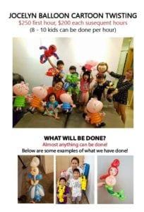Balloon Sculpting Cartoon Twisting