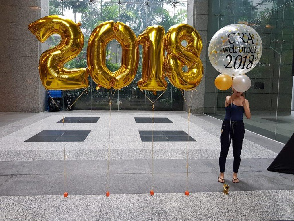 URA Singapore Balloon Decoration