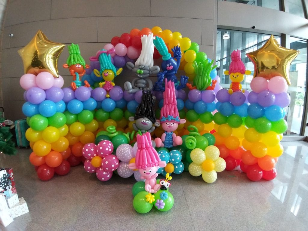 Balloon Decoration for HP's Kids at Work