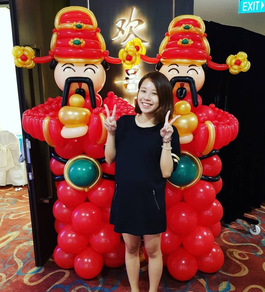 Cai Shen ye, God of fortune, Chinese New Year Balloon Decorations
