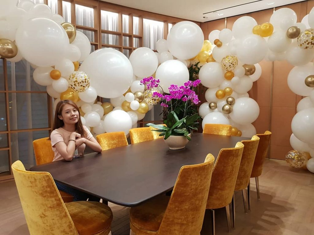 Organic Balloon Decorations For Cartier