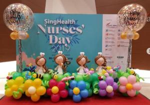 Nurse Day Balloon Decorations