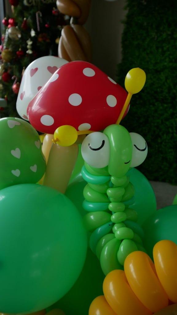 Balloon Caterpillar Sculpture
