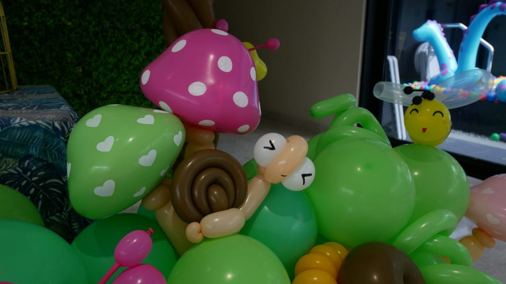 Balloon Snail Sculpture