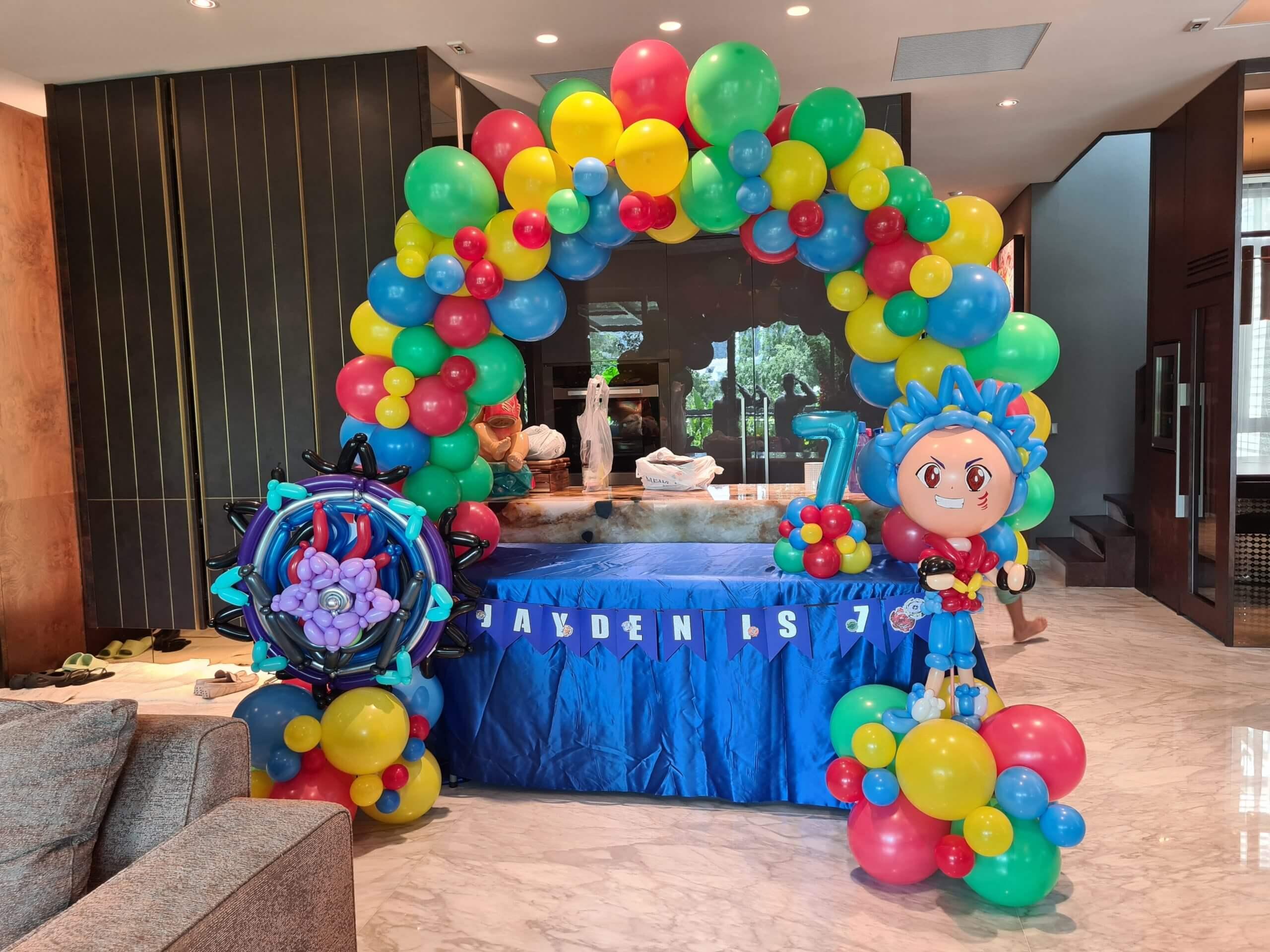 Birthday Party Balloon Mini Decoration